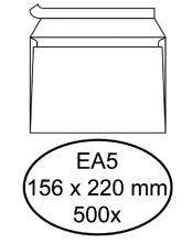 , Envelop Hermes bank EA5 156x220mm zelfklevend met strip wit