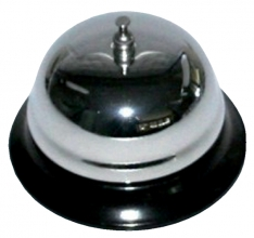 , Baliebel 85mm chroom/zwart