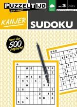, Kanjer Sudoku nummer 3 niveau 1-4