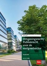 E.  Alders Omgevingsrecht/Publiekrecht voor de vastgoedsector 2016-2017