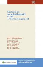 L.  Timmerman Eenheid en verscheidenheid in het ondernemingsrecht