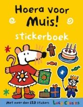 Lucy  Cousins Hoera voor muis!  Stickerboek