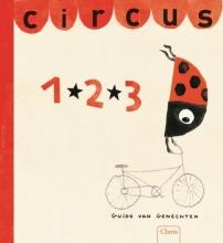 Guido Van Genechten Circus 1.2.3