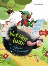 Stefan Boonen , Wat kiest Pieter: een vogelspin of een struisvogel?
