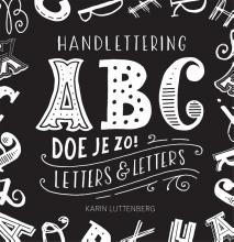 Karin Luttenberg , Handlettering ABC doe je zo!