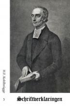 H.F. Kohlbrügge , Schriftverklaringen 5