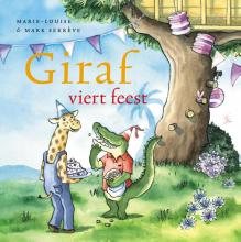 Marie-Louise  Sekrève Giraf viert feest