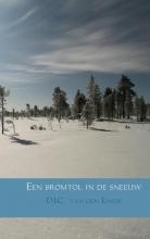 D.J.C. van den  Einde Een bromtol in de sneeuw