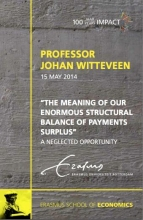 H.Johannus  Witteveen The meaning of our enormous structural balance of payments deficit