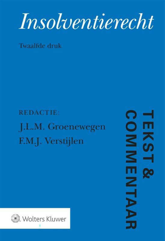 J.L.M. Groenewegen,Insolventierecht