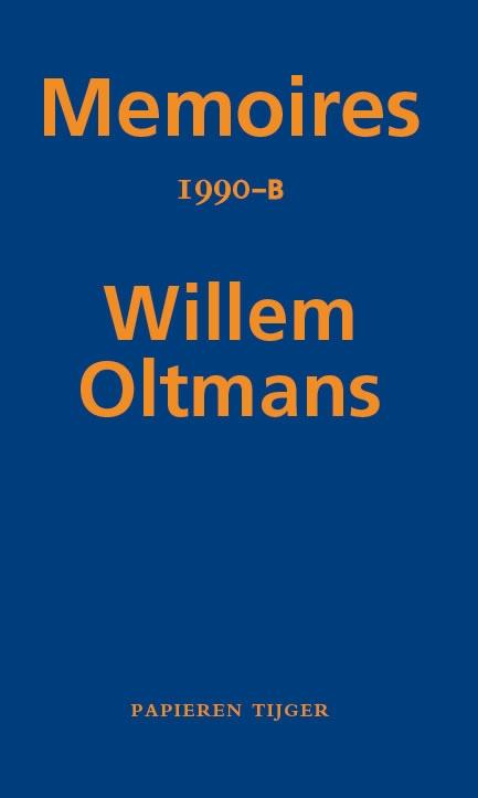 Willem Oltmans,Memoires 1990-B