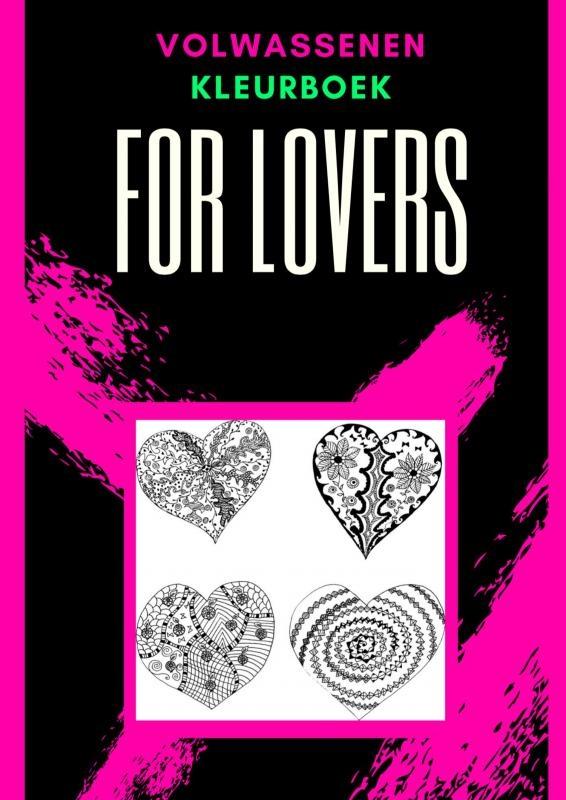Emmy Sinclaire,Volwassenen kleurboek : For Lovers