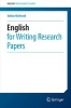 Adrian Wallwork,English for Writing Research Papers