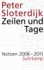 Sloterdijk, Peter,Zeilen und Tage 01