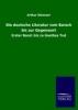 Eloesser, Arthur,Die deutsche Literatur vom Barock bis zur Gegenwart