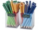 ,Potlood Jumbo Grip 2 kokers à 36 stuks in 3 kleuren