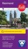 ,Falk/VVV city map & more 21 Roermond 1e druk recente uitgave