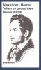 <b>Alexander I.  Herzen</b>,Feiten en gedachten memoires 1812-38