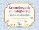 ZNU,Gasten-invulkaarten Kraambezoek en babyborrel (blauw)