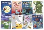 ,Pakket AVI-lezen met Paul van Loon (8 titels)