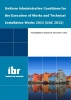 ,<b>Uniform administrative conditions for the execution of works and technical installation works 2012</b>