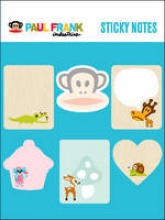 Paul Frank Industries Paul Frank Sticky Notes