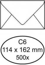 , Envelop bank 114x162mm 70gr wit 1000stuks