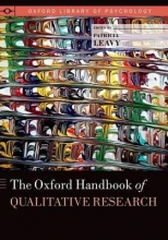Patricia Leavy The Oxford Handbook of Qualitative Research