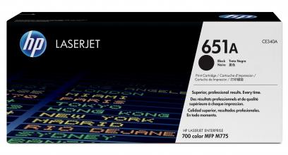 , Tonercartridge HP CE340A 651A zwart