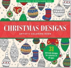 Christmas Designs Artist`s Coloring Book (31 Stress-Relieving Designs)