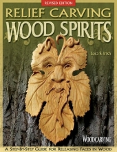 S Irish, Lora Relief Carving Wood Spirits, Rev Edn