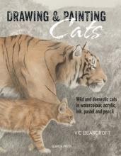 Vic Bearcroft Drawing & Painting Cats