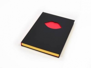 Guinness, Lulu Lulu Guinness: Don`t Forget Your Lipstick A5 Notebook