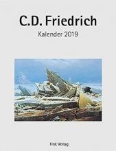 Caspar David Friedrich 2019. Kunstkarten-Einsteckkalender
