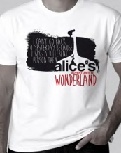 Alice`s Adventures in Wonderland T-shirt, XL