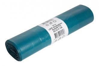 , Afvalzak Powersterko T70 25x140cm 240liter blauw