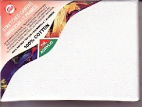 , Talens schildersdoek op spieraam katoen 24x30 cm