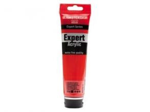 Talens amsterdam expert acrylverf 150 ml cadmiumrood middel 314