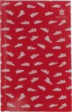 520sne111 , Schoolagenda studie 2020-2021 sneakers assorti rood/blauw