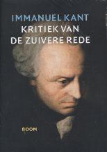Immanuel Kant , Kritiek van de zuivere rede