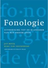 M. van Oostendorp J. Kooij, Fonologie