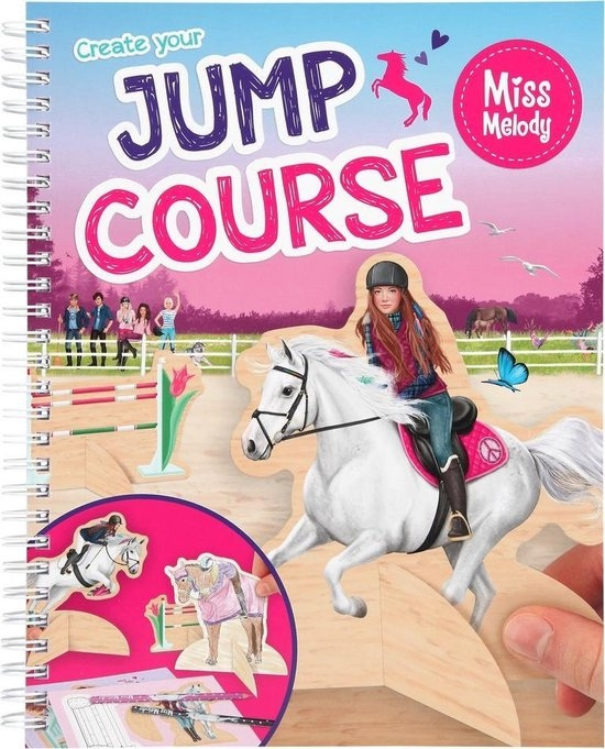 ,Miss melody create your jump course