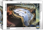 Eur-6000-0842, Puzzel soft watch at the monent of it`s first explosion- s dali - 1000 stuks