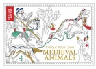Library British, Colour Your Own Medieval Animals