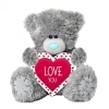 <b>Vpx01003</b>,Me to you love you knuffel 24 cm love heart