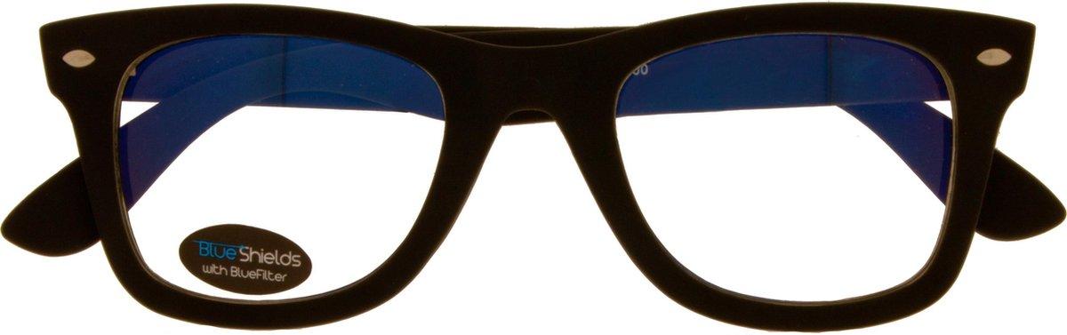Tfb300,Leesbril icon blue shields demi 3.00