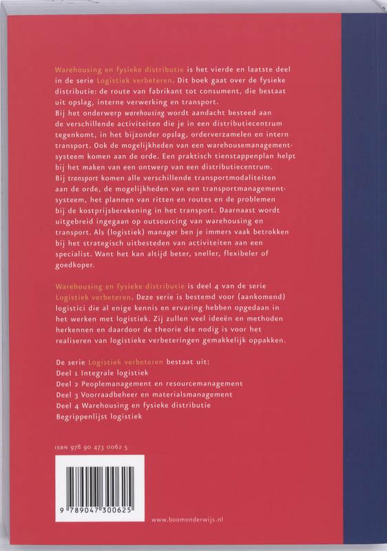 J. Engelbregt, N. Kruijer,Warehousing en fysieke distributie