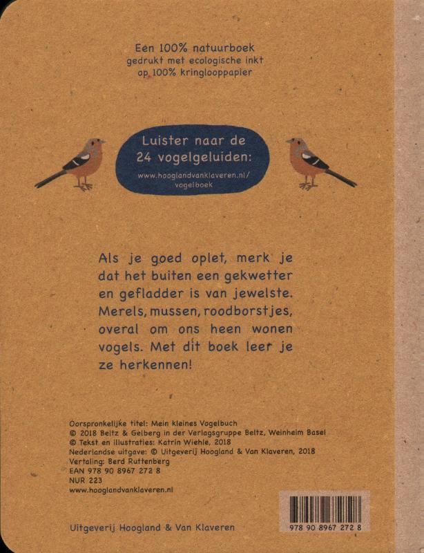 Katrin  Wiehle,Mijn kleine vogelboek