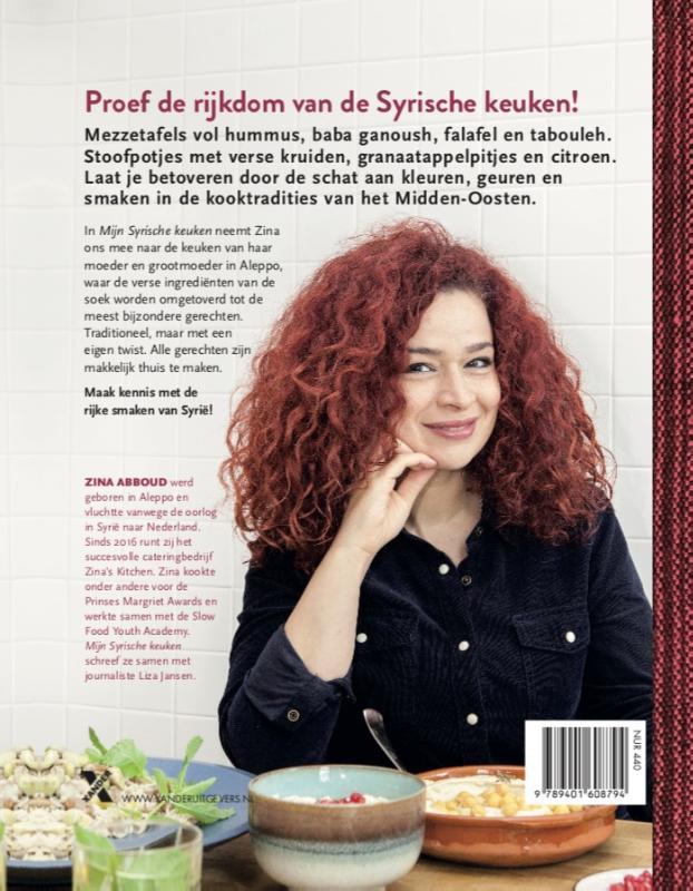 Zina Abboud,Mijn Syrische keuken MP