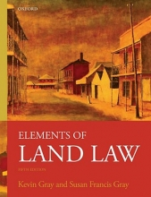 Gray, Kevin Elements of Land Law